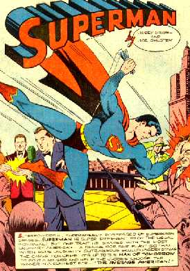 SPLASH PAGE OF ACTION COMICS NO.92
