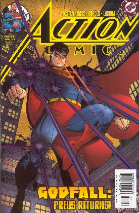 SUPERMAN IN ACTION COMICS 821 (PORTADA DE ARTHUR ADAMS)