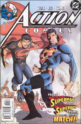SUPERMAN IN ACTION COMICS 822 (PORTADA DE IAN CHURCHILL)