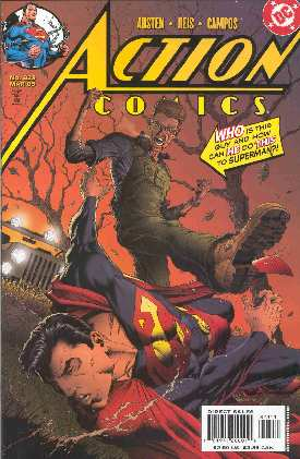 SUPERMAN IN ACTION COMICS 823 (PORTADA DE IAN CHURCHILL)
