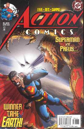 SUPERMAN IN ACTION COMICS 824 (PORTADA DE IAN CHURCHILL)