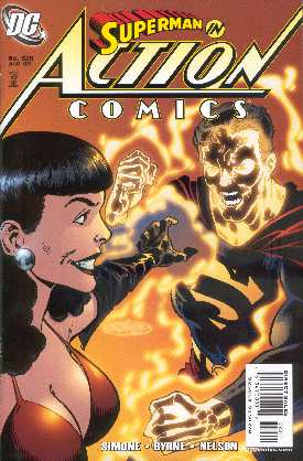SUPERMAN IN ACTION COMICS 828 (PORTADA DE JOHN BYRNE)