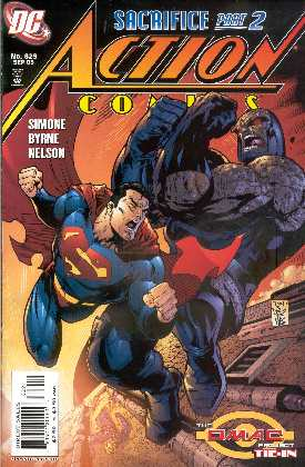 SUPERMAN IN ACTION COMICS 829 (PORTADA TONY S. DANIEL & DEXTER VINES)