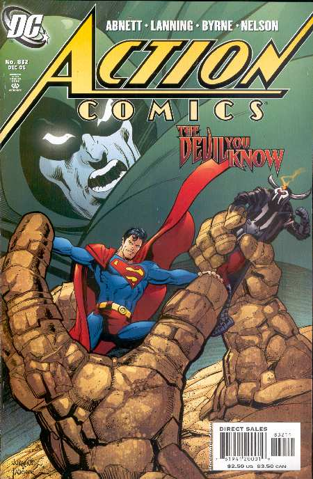 ACTION COMICS #831. PORTADA DE DAN JURGENS Y WAYNE FAUCHER. COLOR DE GUY MAJOR