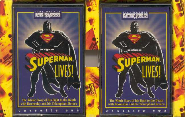 SUPERMAN LIVES AUDIO CASETES