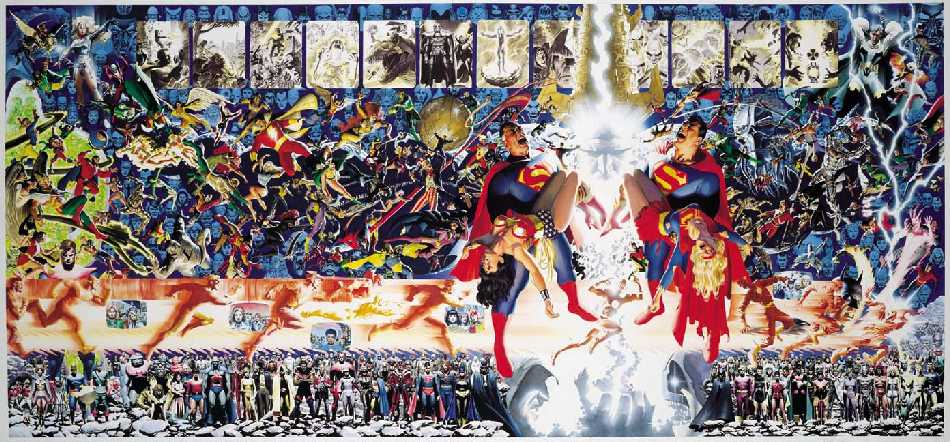CRISIS ON INFINITE EARTHS. EDICION DE LUJO