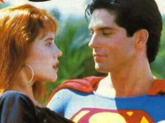 SUPERBOY Y LANA LANG (GERARD CHRISTOPHER Y STACY HAIDUK)