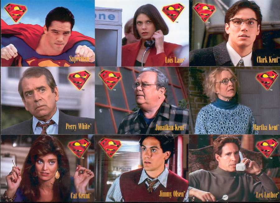 LOIS & CLARK. THE NEW ADVENTURES OF SUPERMAN PRINCIPALES PROTAGONISTAS DE LA PRIMERA TEMPORADA
