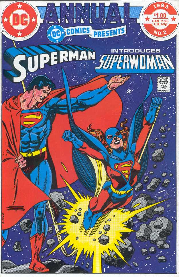 SUPERMAN ANNUAL NO.2 DE 1993 INTRODUCING SUPERWOMAN