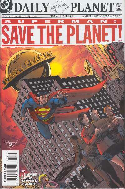 SUPERMAN SAVE THE PLANET