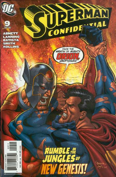 SUPERMAN CONFIDENTIAL #9
