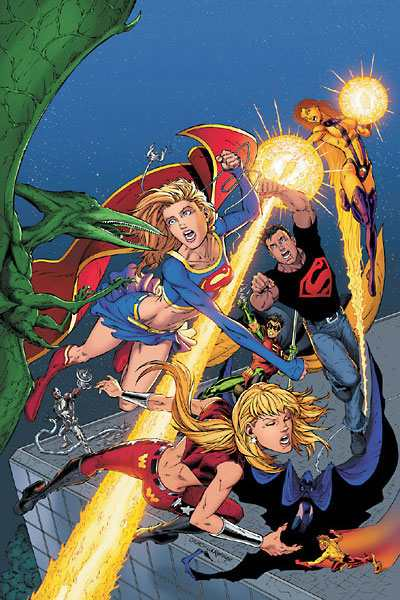 SUPERGIRL 2 (By Ian Churchill & Norm Rapmund)