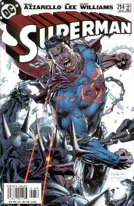 SUPERMAN 214 (JIM LEE, SCOTT WILLIAMS AND ALEX SINCLAIR)