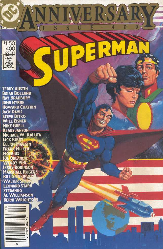 SUPERMAN NO.400 OCTOBRE 1984 ANNIVERSARY ISSUE