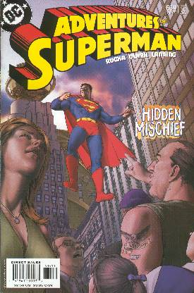 THE ADVENTURES OF SUPERMAN 634 (PORTADA DE GENE HA)