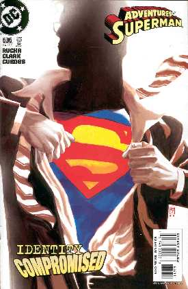 THE ADVENTURES OF SUPERMAN 636 (PORTADA DE J.H.WILLIAMS)