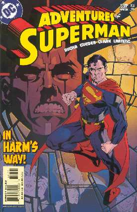 THE ADVENTURES OF SUPERMAN 637 (PORTADA DE BRIAN STELFREEZE)