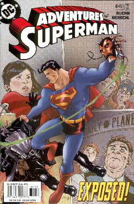 THE ADVENTURES OF SUPERMAN 640 (PORTADA DE KARL KERSCHEL)