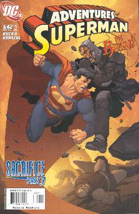 THE ADVENTURES OF SUPERMAN 641 (PORTADA DE KARL KERSCHL)