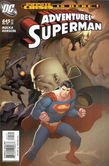 THE ADVENTURES OF SUPERMAN #644. PORTADA DE KARL KERSCHL