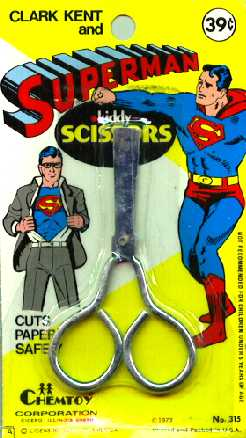SUPERMAN SCISORS